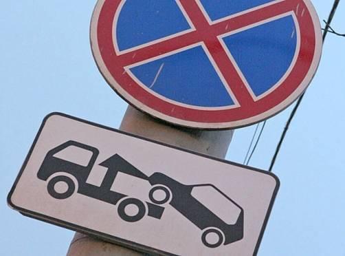 За брошенный транспорт в Саранске берётся эвакуатор