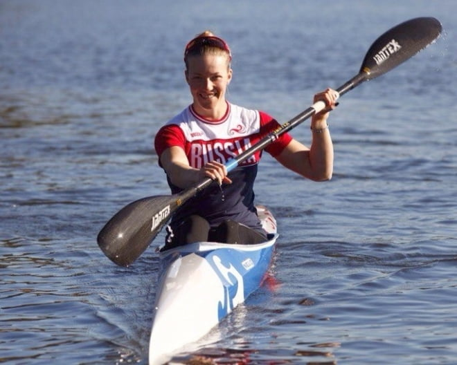 Елена Анюшина – в финале олимпийских соревнований по гребле на байдарке-одиночке