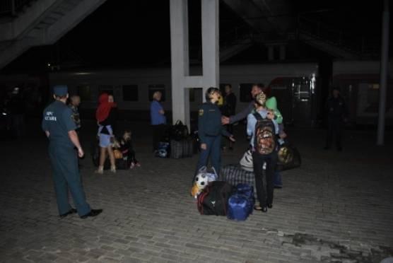 В Мордовии встретили ещё 112 украинских переселенцев