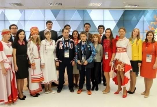 Волонтеры познакомили гостей Паралимпиады в Сочи с Мордовией