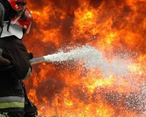 В Саранске на «Биохимике» тушили пожар