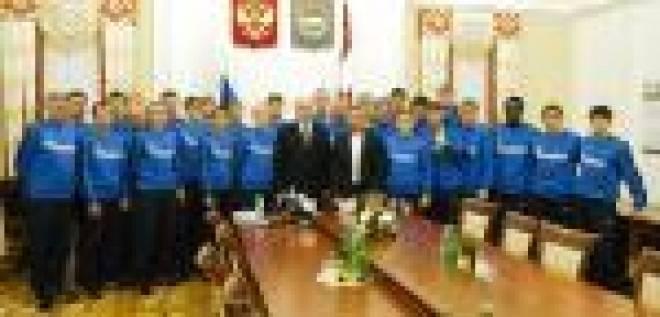 Глава региона-13 нацелил игроков ФК «Мордовия» только на победу