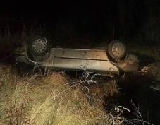 В Мордовии водитель «двенашки» слетел в кювет и сбежал