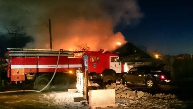 В Мордовии в горящем бараке пострадали 4 человека