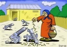 Мордовская пенсионерка избила соседа забором