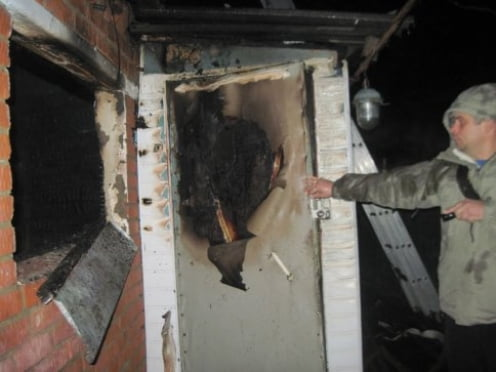 Житель Мордовии задохнулся возле крана с водой, пытаясь потушить пожар