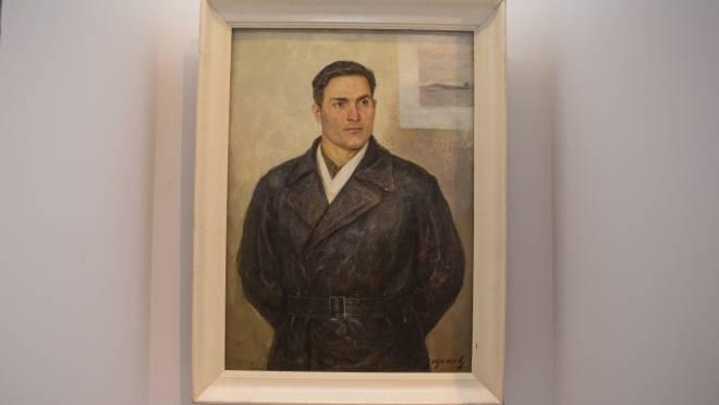 Портрет героя из Мордовии стал одним из знаковых экспонатов на выставке в Москве