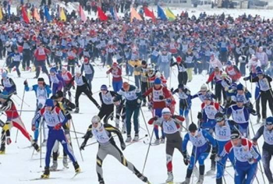 В Мордовии – больше всего в России желающих присоединиться к «Лыжне России»