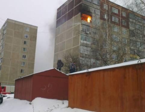 В Саранске из-за неосторожности горят квартиры