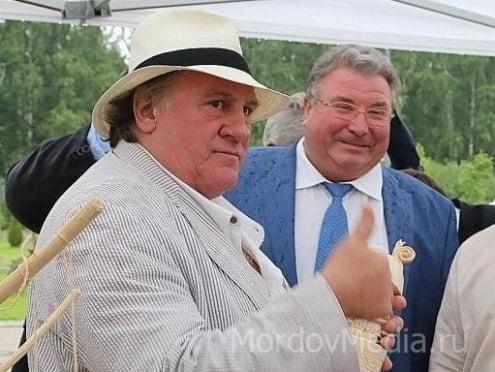 Жерар Депардье будет рекламировать Саранск