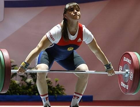 Мордовская тяжелоатлетка стала сильнейшей в России