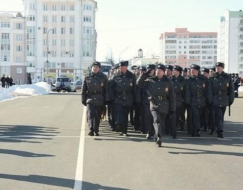 Сегодня городская полиция покажет свой потенциал