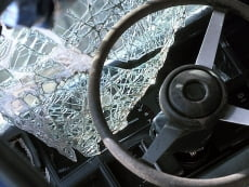 В Мордовии «десятка» растолкала грузовики УФСИН