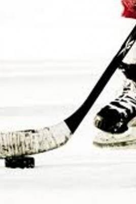 Хоккейный матч постер