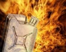В Мордовии подросток чуть не сгорел, разжигая баню бензином