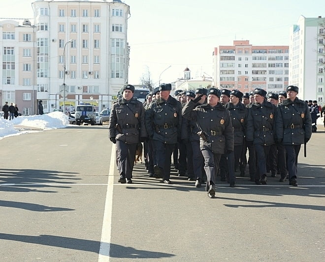 Полиция Саранска покажет свой потенциал