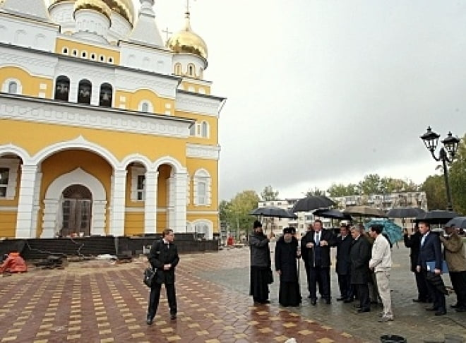 В Саранске храм Кирилла и Мефодия откроют в октябре