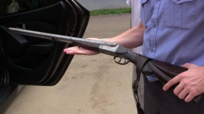 Житель Саранска пришел в полицию с раритетным ружьем