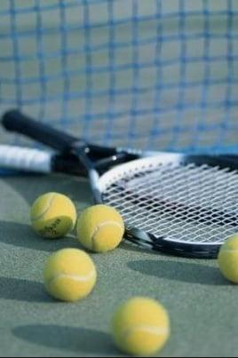 Всероссийский турнир по теннису постер