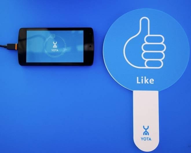 Yota призывает к независимости от Wi-Fi