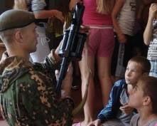 Бойцы спецотряда «Гепард» УФСИН Мордовии провели урок мужества