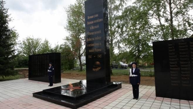 К суду в Мордовии готовится вандал, повредивший памятник участникам ВОВ