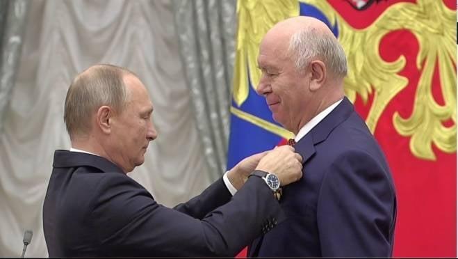 Президент РФ наградил орденом политика из Мордовии