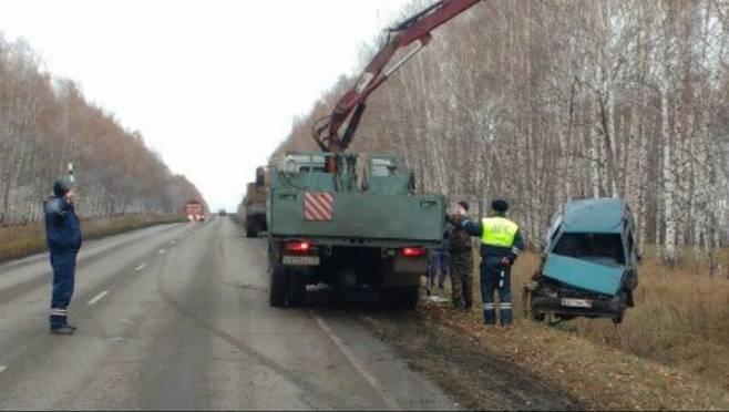 Водитель без прав устроил в Мордовии ДТП с переворотом