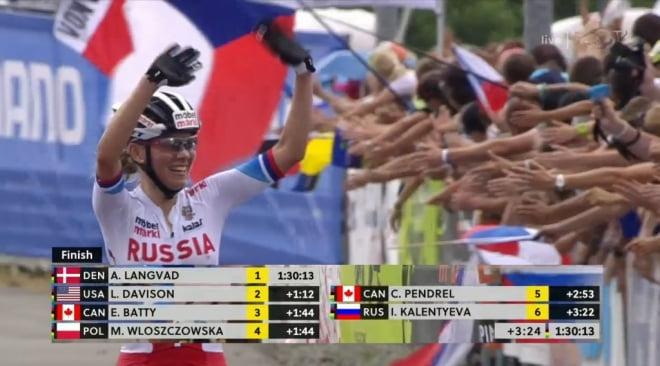 Неудача мордовской велосипедистки не уменьшила ее шансы попасть на олимпиаду в Рио