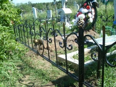 В Саранске бомж воровал ограды с могил на металлолом