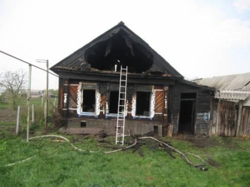 В Мордовии в пожаре погиб инвалид