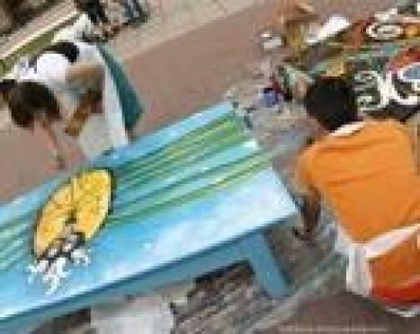 1 мая в Саранске стартует интерактивный арт-проект «Лавка Мира»