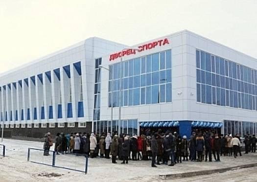 Жителям села Кочелаево «подарили» новый дворец спорта