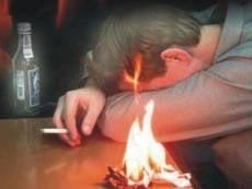 В Мордовии в пьяном пожаре сгорели двое