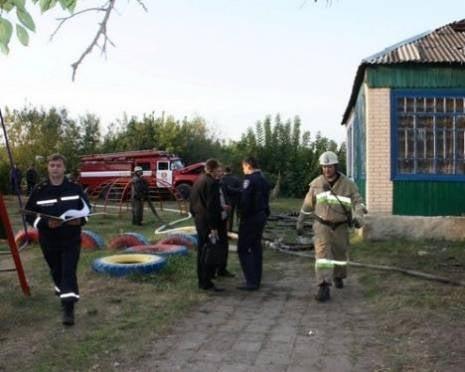 В Мордовии произошел пожар в детском саду