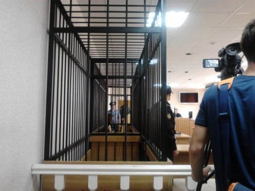 Надежда Толоконникова доставлена в Верховный суд Мордовии