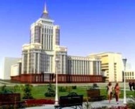 Глава Мордовии потребовал ускорить темпы строительства главного корпуса МГУ им.Огарева