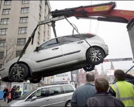 Гаишники «чистят» Саранск от неправильно припаркованных авто