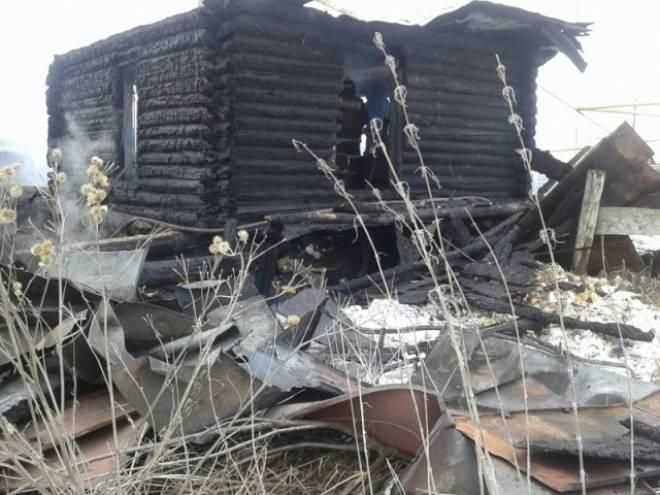 В Мордовии в сгоревшем доме обнаружили труп