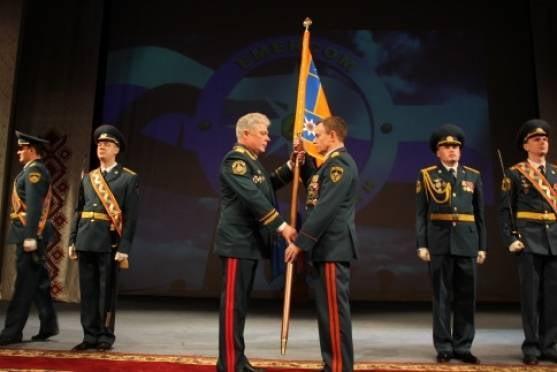 Спасатели Мордовии обрели собственное знамя