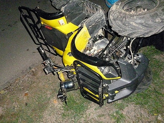 В Саранске два школьника на квадроцикле врезались в дом