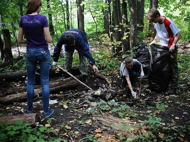 «Зелёный десант» приберётся в лесопарке на юго-западе Саранска