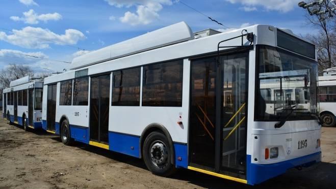 Жителей Саранска будут возить на новых троллейбусах