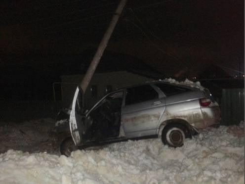 В Мордовии подросток разбил угнанную «двенашку»