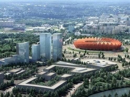 Игорь Левитин посмотрел на Саранск с высоты