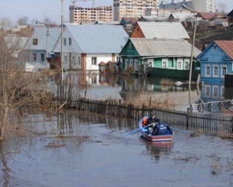 Паводок в Саранске идет на убыль