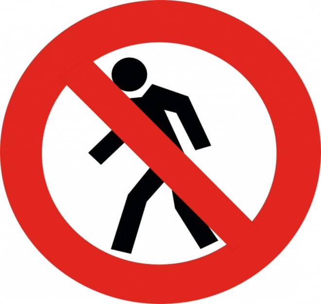 Жителей Саранска просят забыть о закрытом пешеходном переходе