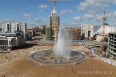 Фонтан на площади Тысячелетия в центре Саранска превратится в каток
