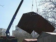 В Саранске снесут 2000 гаражей