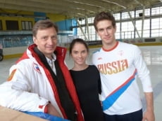 Юные мордовские фигуристы наберутся опыта у пары Базарова-Депутат